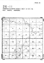 Township 26 North - Range 11 West, Holt County 1948